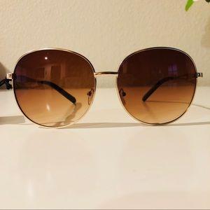 Brown Ombré Sunglasses